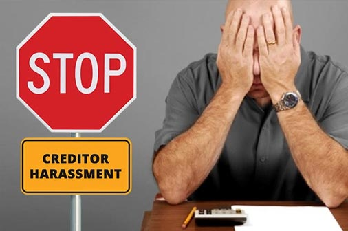 Filing for bankruptcy in Olympia, WA or Thurston County, stops creditor harassment.